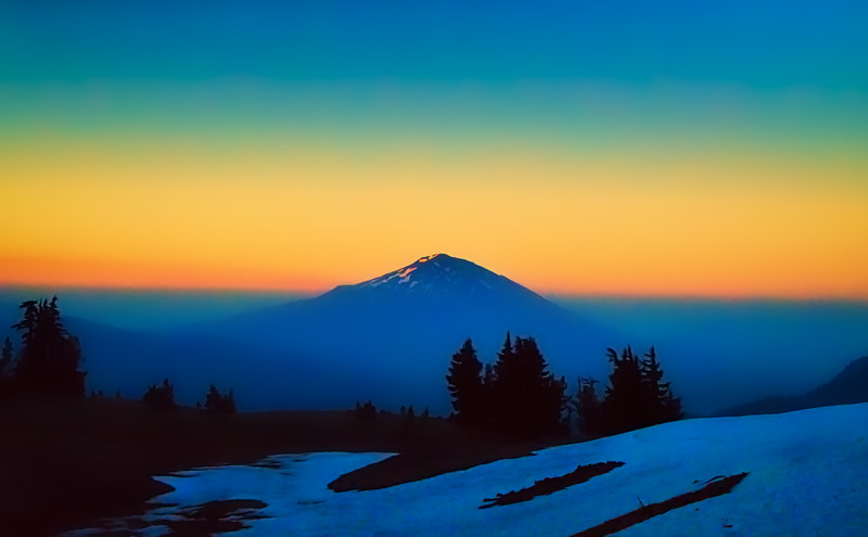 Mt. Bachelor at sunrise