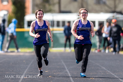 Broughton track and field vs. Southeast Raleigh. March 14, 2018.