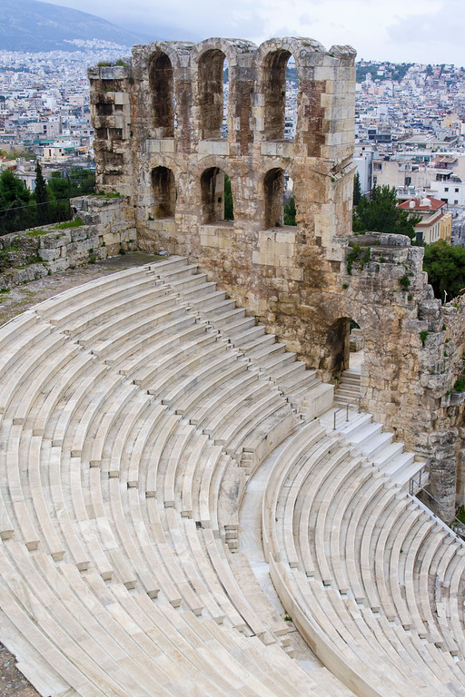 Odeon of Herodes Atticus at the Acropolis