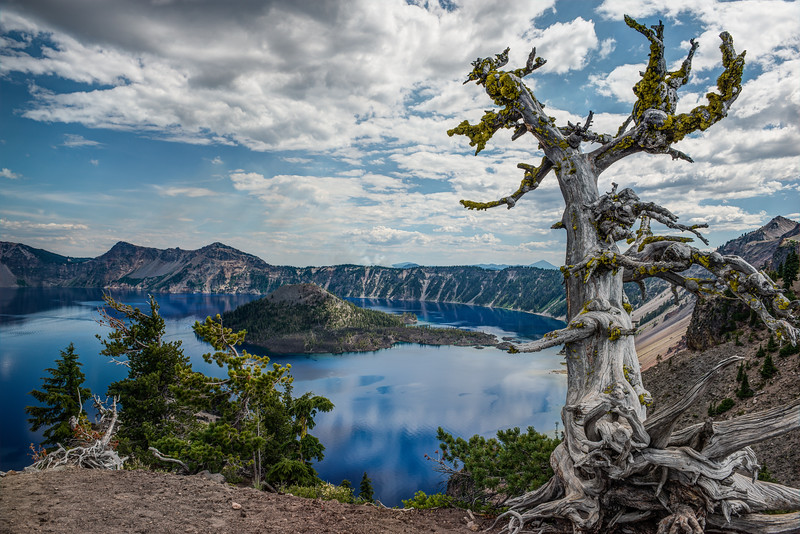 Crater Lake, Oregon  DP-53B