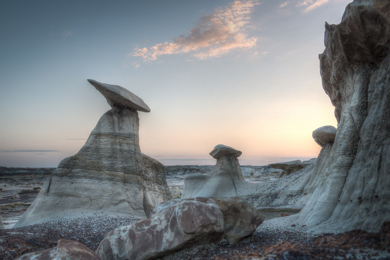 Bisti Badlands, New Mexico  DP--47B