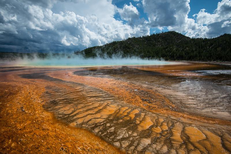 Yellowstone National Park, Wyoming  DP-0112B