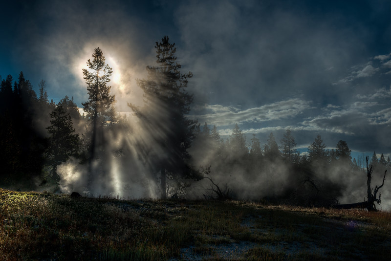 Yellowstone National Park, Wyoming  DP-61B