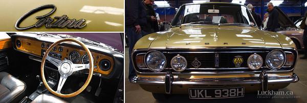 The British Ford Cortina