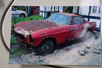 Volvo 1800 The Saint's car before restoration