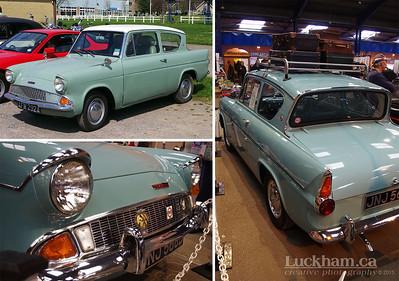 The British Ford Anglia