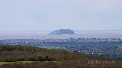 Steep Holm and Weston-super-Mare