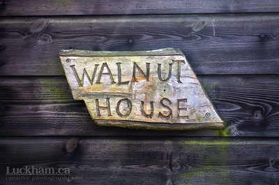 there's just something about this house plaque that I couldn't resist, must be the typographer in me
