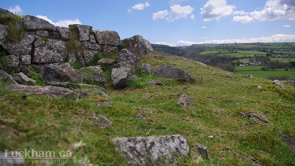 at one time Dolebury Warren was a medieval rabbit warren used to breed rabbits for meat and fur
