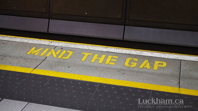 London is... minding the gap