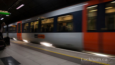 London is... the fast train to Paddington