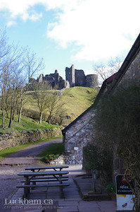 Castle Carreg Cennen and the Tea Room and Craft Shop