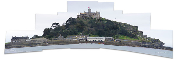 St.Michael's Mount - merge of 12 photos