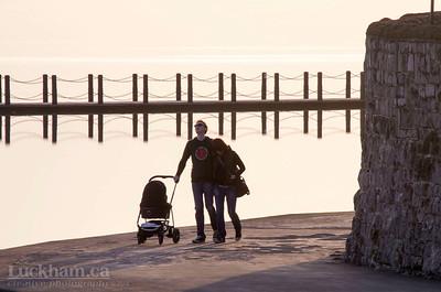 a walk around Marine Lake