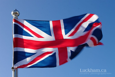 The Union Jack is actually the flags of England, Scotland and Ireland merged together.