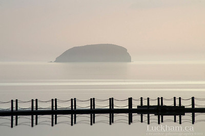 Knightstone Causeway and Steep Holm