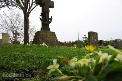 St. Pauls Cemetery at Kewstoke, Somerset
