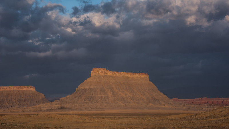 Factory Butte Aglow