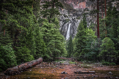 """Lower Yosemite Falls"""