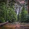 """Lower Yosemite Falls"""