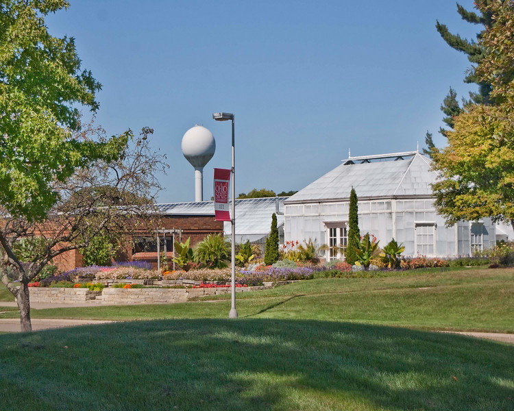 Photo: Grounds of the Agricultural Technical Institute (ATI) of The Ohio State University in Wooster, Ohio.  Role in Wayne County's Ag-Bio Cluster: Higher education leader, workforce training  Website: http://ati.osu.edu/