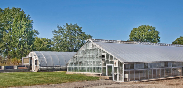 Photo: One of the many research greenhouses on the Ohio Agricultural Research and Development Center (OARDC) campus.  Role in Wayne County's Ag-Bio Cluster: International leader in agricultural research and development, new business incubator, higher education leader, agricultural extension and services.  Website: http://www.oardc.ohio-state.edu/