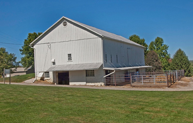 """Photo: Barn on the Ohio Agricultural Research and Development Center (OARDC) campus.<br /> <br /> Role in Wayne County's Ag-Bio Cluster: International leader in agricultural research and development, new business incubator, higher education leader, agricultural extension and services.<br /> <br /> Website: <a href=""""http://www.oardc.ohio-state.edu/"""">http://www.oardc.ohio-state.edu/</a>"""