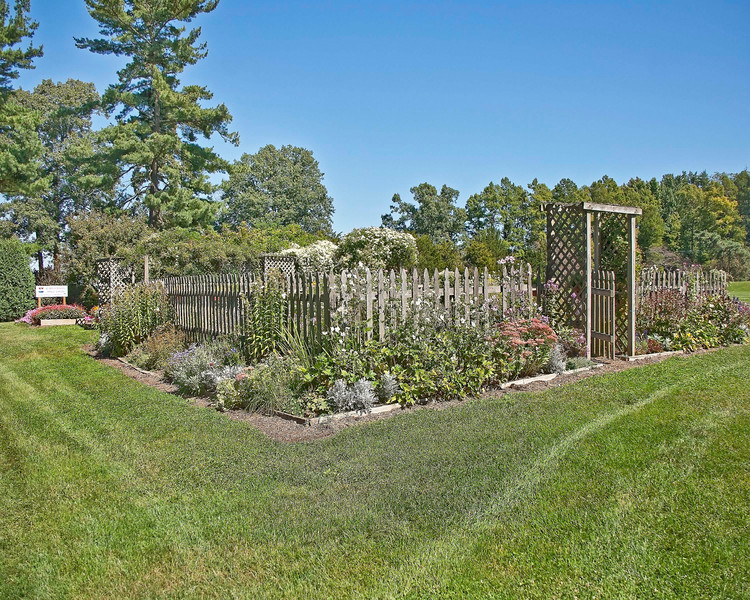 Photo: One of the many beautiful gardens found in the Secrest Arboretum on the OARDC campus in Wooster, Ohio.  Role in Wayne County's Ag-Bio Cluster: Plant and flower research & development, arts and culture amenity, recreation and leisure resource.  Website: http://secrest.osu.edu/