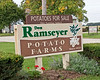 Photo: Sign for the Don Ramseyer Potato Farm in Smithville, Ohio.<br /> <br /> Role in Wayne County's Ag-Bio Cluster: Potato grower, farm.<br /> <br /> Website: None