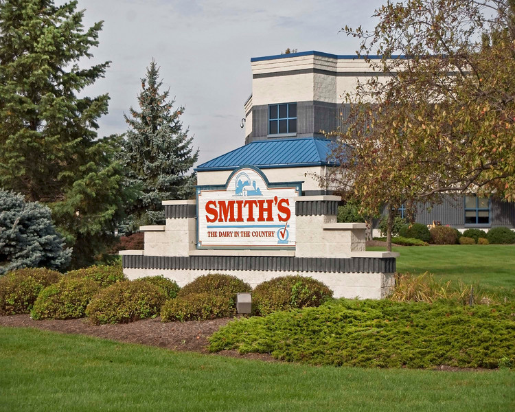 """Photo: Smith Dairy Products Company's corporate headquarters facility in Orrville, Ohio. <br /> <br /> Description: Founded in 1909, the company celebrated its 100th anniversary in business this year. Smith Dairy Products is the leading regional maker of dairy products, beverages, and ice cream in Northeast Ohio.<br /> <br /> Role in Wayne County's Ag-Bio Cluster: Leading regional dairy and dairy products manufacturer. Corporate headquarters.<br /> <br /> Website:  <a href=""""http://www.smithdairy.com"""">http://www.smithdairy.com</a>"""