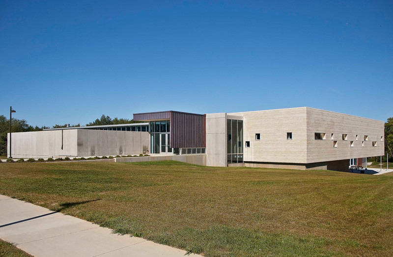 """Photo: New Science Building at Wayne College in Orrville, Ohio (Wayne County, Ohio).<br /> <br /> Description: Wayne College is a branch campus of the University of Akron offering two-year degrees and a transfer program to the main campus in Akron resulting in a four-year degree. It is located in Orrville, Ohio.<br /> <br /> Role in Wayne County's Ag-Bio Cluster: Higher education provider, offering degrees in a wide range of fields related to science, engineering, business and many other fields. As a part of the University of Akron system, Wayne College has access to the major science and engineering resources available on the University's main campus in Akron.<br /> <br /> Website <a href=""""http://www.wayne.uakron.edu/"""">http://www.wayne.uakron.edu/</a>"""