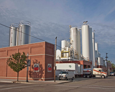 Photo: Smith Dairy Products Company's dairy facility in downtown Orrville, Ohio.  Role in Wayne County's Ag-Bio Cluster: Leading regional dairy and dairy products manufacturer. Corporate headquarters.  Website: www.smithdairy.com