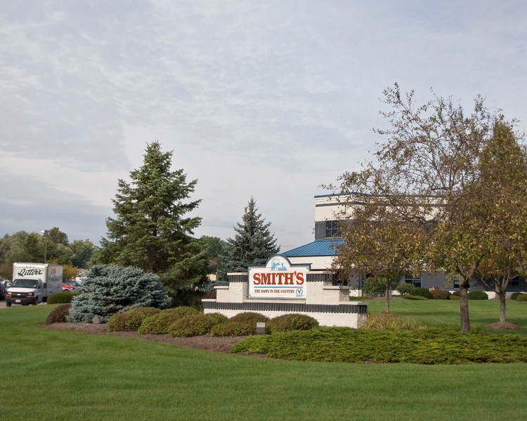 """Photo: Smith Dairy Company's corporate headquarters facility in Orrville, Ohio.<br /> <br /> Role in Wayne County's Ag-Bio Cluster: Leading regional dairy and dairy products manufacturer. Corporate headquarters.<br /> <br /> Website:  <a href=""""http://www.smithdairy.com"""">http://www.smithdairy.com</a>"""