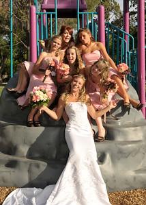 CHD_0766 Bridesmaids on rock climb fun adj 5x7