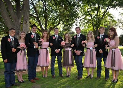 CHD_0990 Bridesmaids and Groomsmen adj 7x5