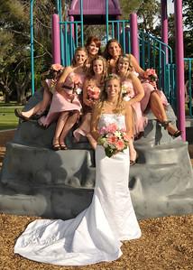 CHD_0754 Bridesmaids on rock climb adj 5x7