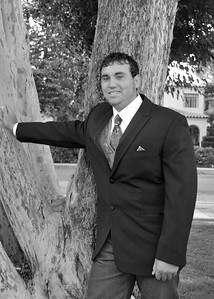 CHD_0600 Chad leaning on tree adj 5x7 b&w
