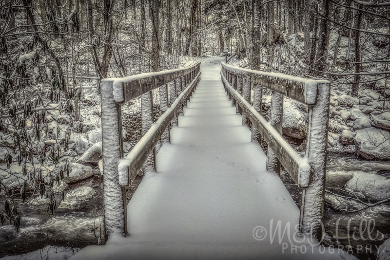 Snowy Stairsteps - Ramsey Cascades