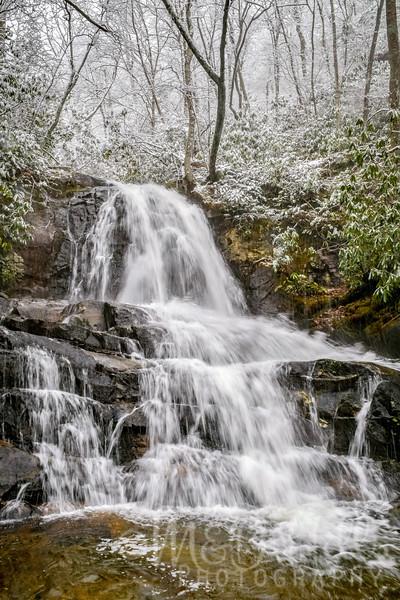 Winter Hike To Laurel Falls