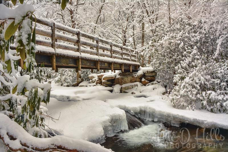 Chimney Tops Winter Crossing
