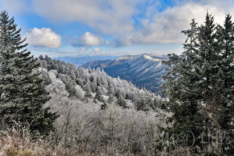 Winter View From The Gap