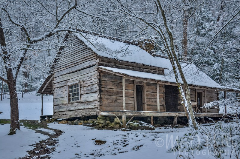 Winter At The Ogle Cabin