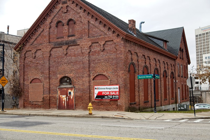 Photos from Worcester MA Union Station and the Canal District.