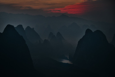 CHI_1676-Xianggong Hill-Early Sunrise