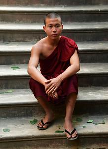 MYA_2910-Monk on Stairs