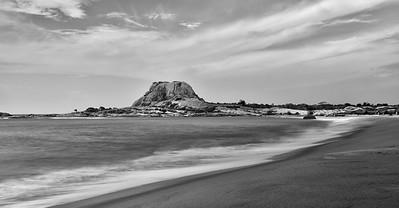 SRI_0770-Patanangala Beach-Yala Nat Park-BW