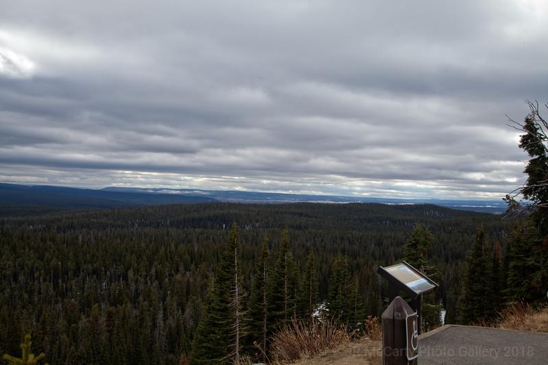 Mt Washburn view