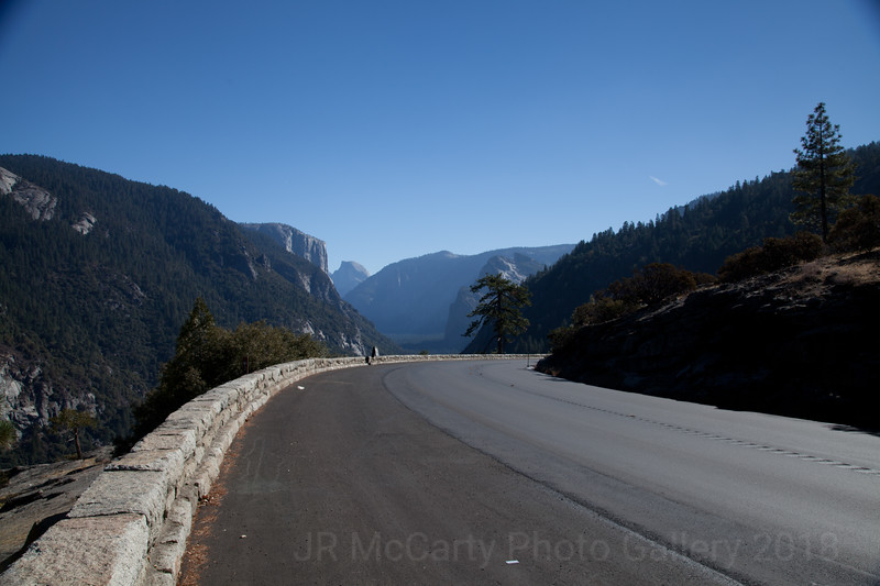 Road to Tunnel View