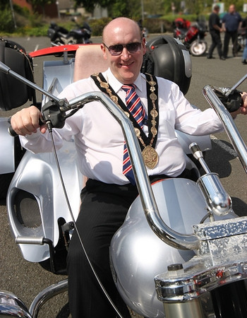 NI Bikers & Trikers Riding For Charity - Mayor Of Lisburns Ride Out - June 2013