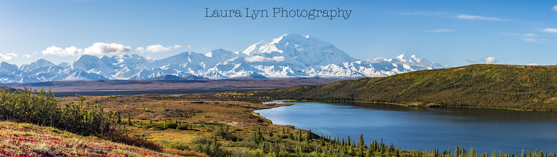 Denali View Wonder Lake Denali National Park September 2014